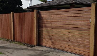Merbau Fence & Gate